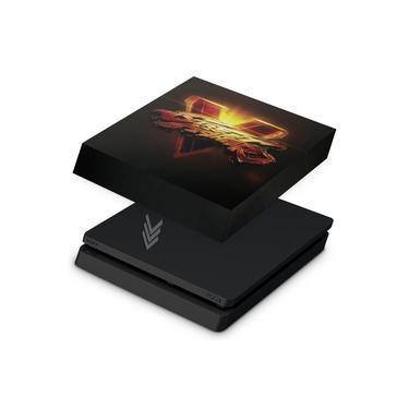 Capa Anti Poeira para PS4 Slim - Street Fighter V