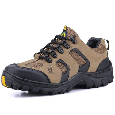 Bota Coturno Adventure Yes Basic Couro Bege  masculino