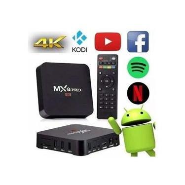 Tv Box MXQ Pro 4K 5G Android Smart