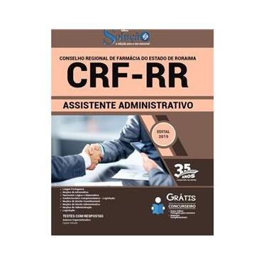 Imagem de Apostila Concurso Crf Rr - Assistente Administrativo