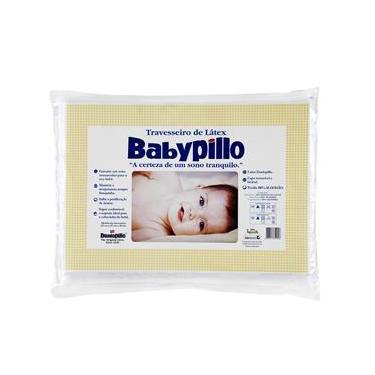 Imagem de Travesseiro Copespuma Babypillo Látex Para Bebês 25X35 Cm