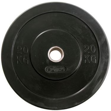 Anilha Crossfit Bumber Borracha Preta Gears - 20KG
