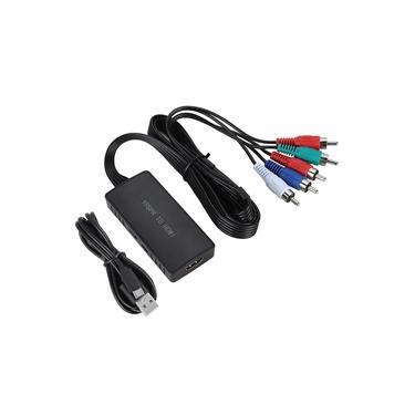 1080P HDMI Conversor YPbPr AUDIO para HDMI1.3 Adaptador para PS2 XBOX DVD