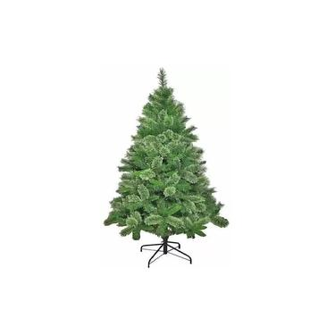 Árvore Pinheiro de Natal Modelo Luxo 1,50m Verde Nevada A315N