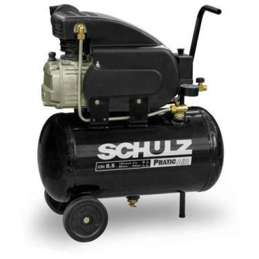 Compressor Motocompressor de Ar 2,0 HP 25 Litros CSI 8,5/25 Pratic Air