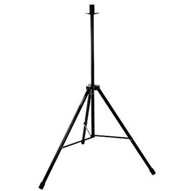 Suporte para caixa acústica torre tripé de estágio único stcf preto