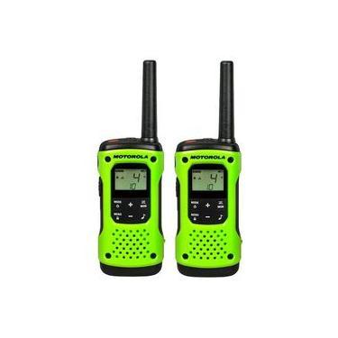 Walkie Talkie Motorola Talkabout T600h2o Para Até 56km Bivolt - Verde/preto