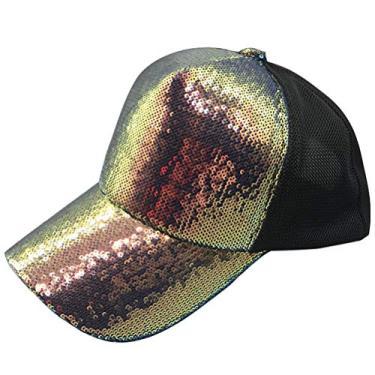 SOIMISS Boné de Beisebol de Verão da Moda Boné de Sombra de Sol Simples Chapéu de Beisebol Chapéu de Proteção Chapéu para Senhora Mulher Senhora (Roxo)