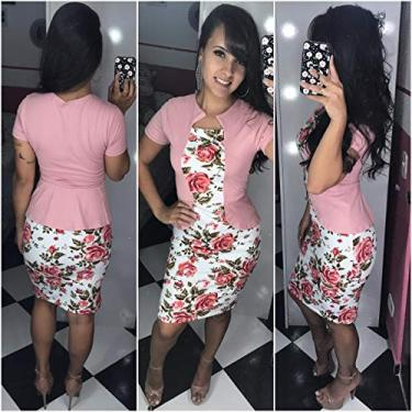 Vestido Feminino Midi Godê Social Moda Evangélica