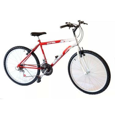 Bicicleta Aro 26 Wendy Masc 18M Mtb Convencional Cor Vermelho