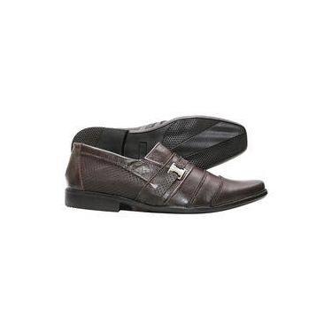 Sapato Social Masculino Couro Legítimo Solado Borracha Preto 58536c2ac86