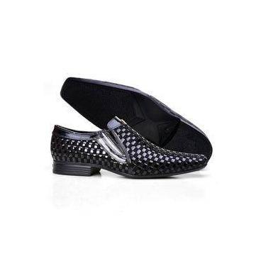 1249fba46c Sapato Calvest Preto | Moda e Acessórios | Comparar preço de Sapato ...
