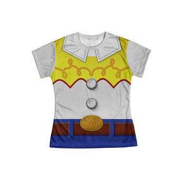 Camiseta Baby Look Feminina Jessie Toy Story