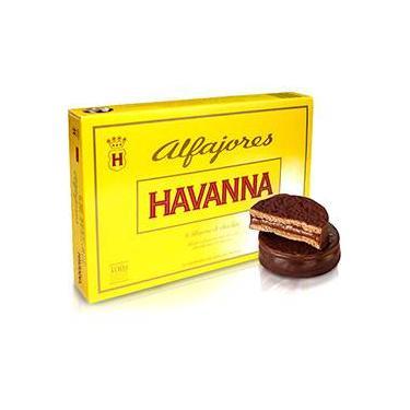Alfajor Chocolate 300g Caixa com 6 Unidades - Havanna