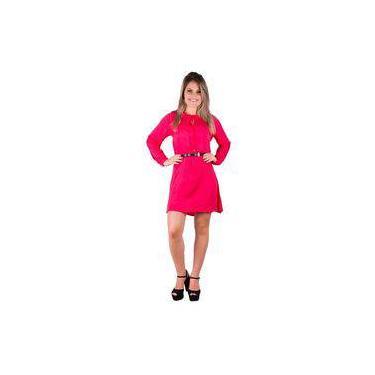 3a0928e1dcc5 Vestido Rosa Liso: Encontre Promoções e o Menor Preço No Zoom