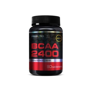 Bcaa Monster 2400 ( 60 Tabletes / 30 Doses ) Probiótica