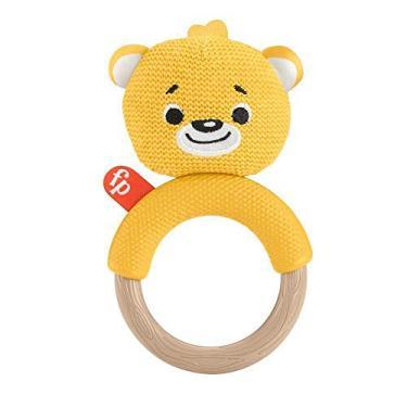 Imagem de Fisher Price Mordedor Bichinhos Tricotados Urso - Mattel