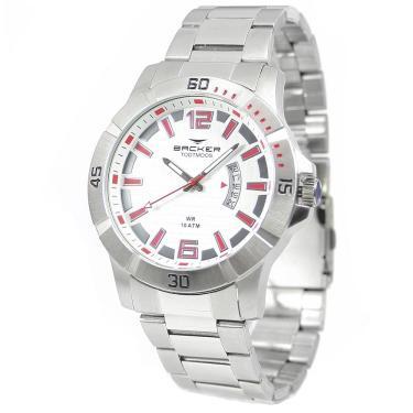 5778edfd4b6 Relógio Masculino Backer Analógico 6219253M - Prata