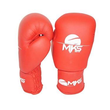 031a15be3 Luva de Boxe Mks Combat Infantil Vermelho 8 Oz