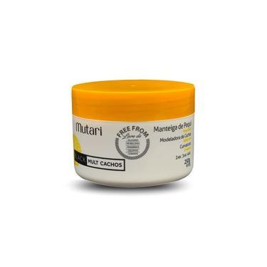 Manteiga De Hidratação de Pequi Mutari Tratamento Para Cabelos Cacheados Black Mult Cachos