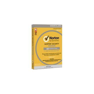 Norton Antivírus Security Premium para 10 dispositivos 12 meses NortonLifeLock CX 1 UN