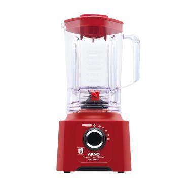 Imagem de Liquidificador Arno LN61, Power Max Limpa Fácil, Copo SAN, 5 Velocidades + Pulsar, 700W, Vermelho