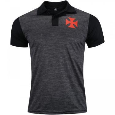 Camisa Polo do Vasco da Gama Line 19 - Masculina Xps Sports Masculino
