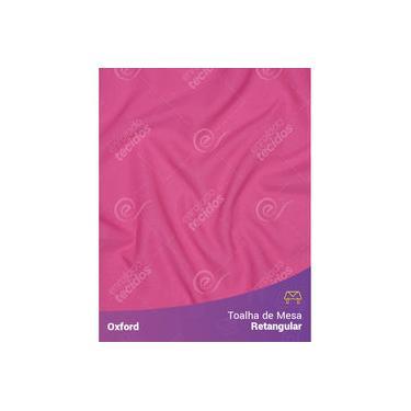 Imagem de Toalha De Mesa Retangular Em Oxford Rosa Pink Chiclete