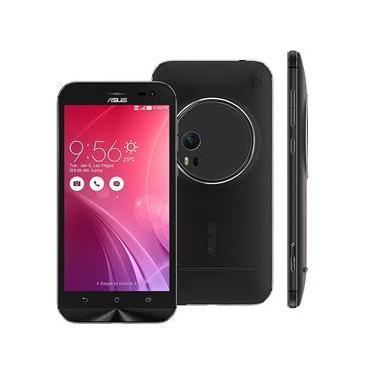 """Imagem de Smartphone Asus Zenfone Zoom ZX551M Preto 32GB, Tela 5.5"""", Câmera 13MP, 4G, Android 5.1, RAM 4GB e Processador Intel Quad Core"""