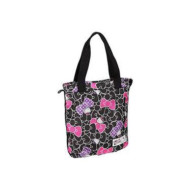Tote Bag Hello Kitty Lacinhos Preto - PCF Global
