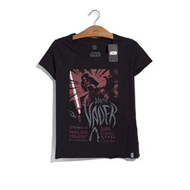 c7d6046422f Camiseta Feminina Star Wars Tour Vader