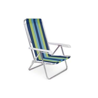 Cadeira Reclinável Alumínio 8 Posições - 2230