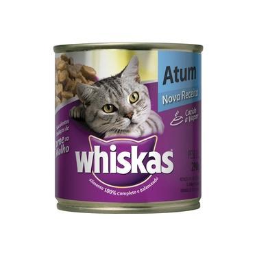 Ração p/ Gato Atum ao Molho Lata 290g - Whiskas