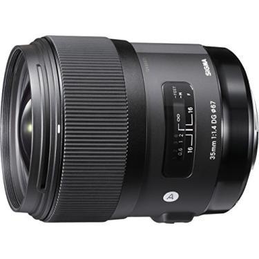 Imagem de Sigma Lente 35 mm F1.4 Art DG HSM para Nikon, preta, 3,7 x 3,03 x 3,03 (340306)
