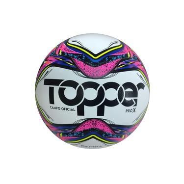 Bola De Futebol Oficial Campo Samba Velocity Pró X Topper Nf