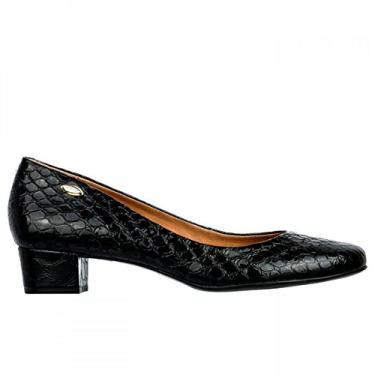 Sapato Feminino Luz da Lua Vibora S48001