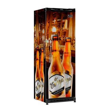 Cervejeira Esmaltec 320 Litros Frost Free CV300R - Estampado