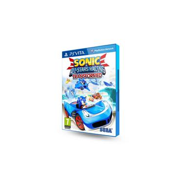 Jogo Ps Vita Sonic All Stars Racing: Transformed - Sega