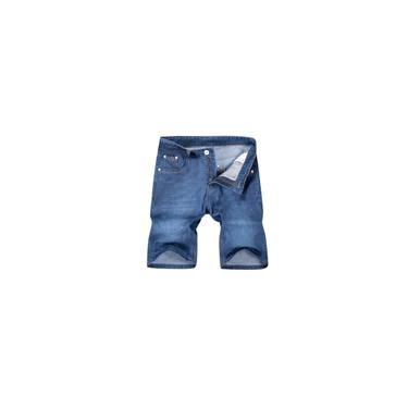 Calças Calças Calças Masculinas Verão Moda Casual Confortável Gelo Curto