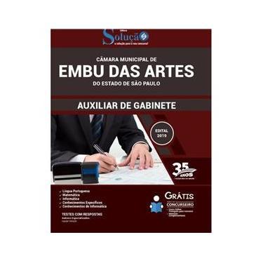 Imagem de Apostila Embu Das Artes São Paulo Auxiliar De Gabinete