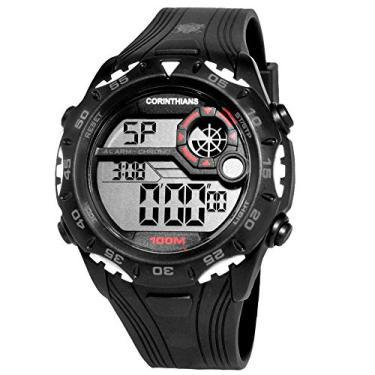 Relógio Masculino Technos Digital Clubes Casual Corinthians COR1360 8P 4990cfb3b2