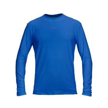 Camiseta Active Fresh Ml - Masculino Curtlo GGG Azul Royal