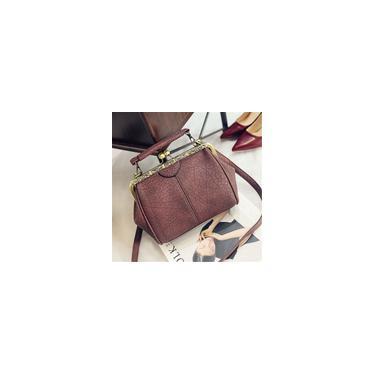 Imagem de Novas mulheres senhora couro vintage ombro mensageiro saco crossbody Tote bolsa bolsa