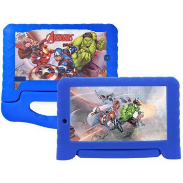 Imagem de Tablet Infantil Multilaser Plus+ 16Gb 7'' Polegadas 1Ram