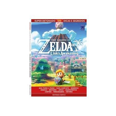 Livro Super Detonado Dicas e Segredos - the Legend of Zelda Links Awakening