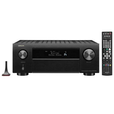 Denon AVR-X4500H - Receiver 9.2 Ch - 125W - Dolby Atmos e DTS:X - Bluetooth e Airplay