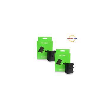 2 Baterias Controle Xbox One Cabo Carregador Play & Charge Kit