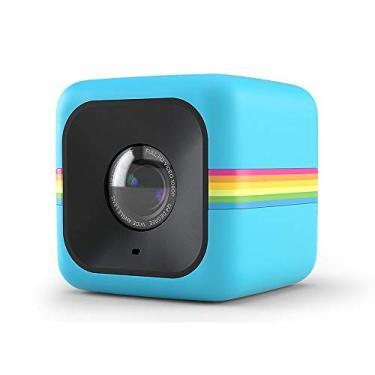Imagem de Câmera de ação Full HD Cube Polaroid Azul