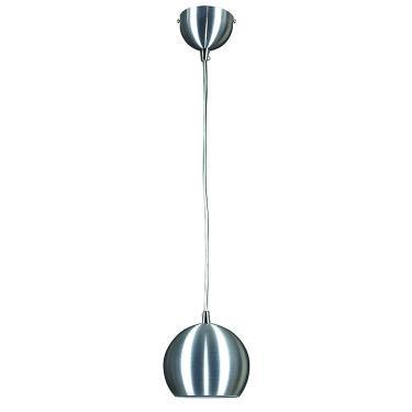 Pendente de Alumínio Bacino 15cmx13cm Bella Iluminação Prata