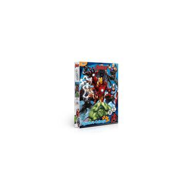 Imagem de Quebra-Cabeça Vingadores Marvel 150 Peças Toyster - 8036